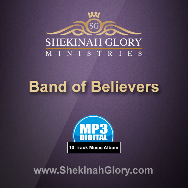 """Band of Believers"" - 10 Track MP3 Music Album"