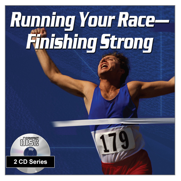 """Running Your Race - Finishing Strong"" 2 x CD Audio Series"