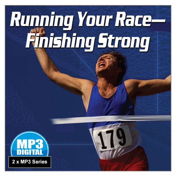"""""""Running Your Race - Finishing Strong"""" 2 x MP3 Audio Series"""