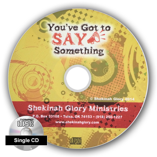 """You've Got to Say Something"" Single CD Audio Series"