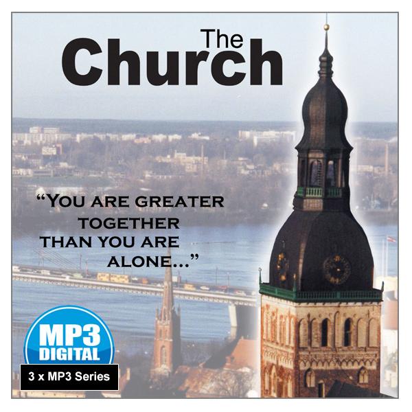 """""""The Church"""" - 3 x MP3 Series"""