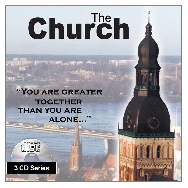 """""""The Church"""" 3 x CD Audio Series"""